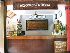 Puri Wisata Hotel Bali - Resepsionis