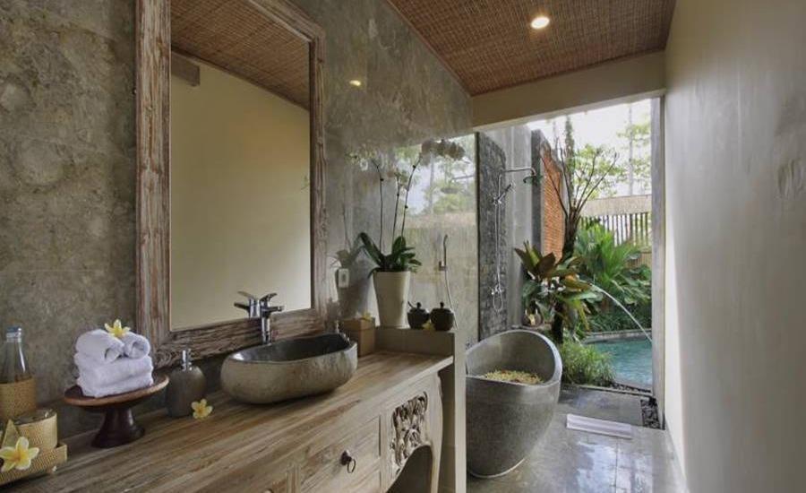 The Alena Resort Bali - Kamar mandi