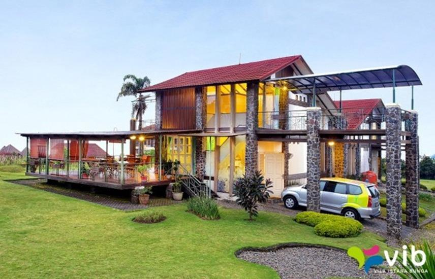 Villa Alium Istana Bunga Lembang Bandung - Eksterior