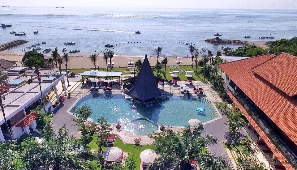 Sadara Beach Resort   - Pemandangan Dari Atas