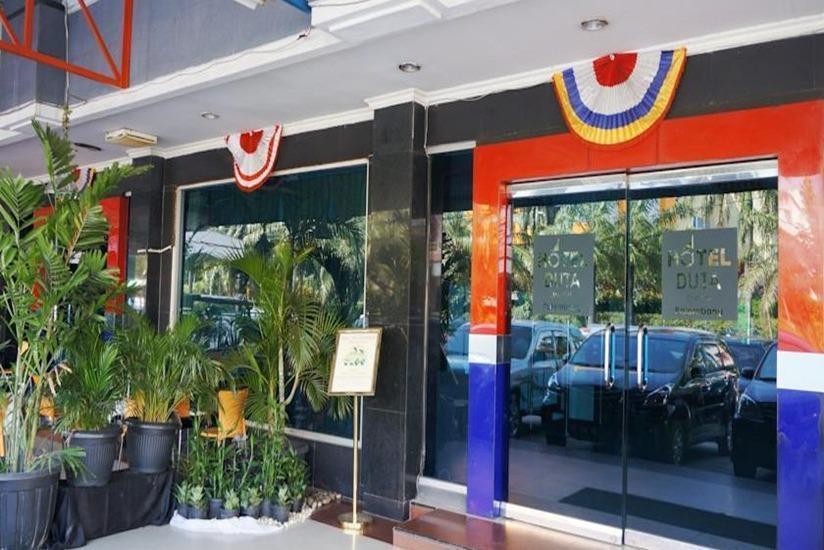 Hotel Duta Palembang - Pintu masuk utama