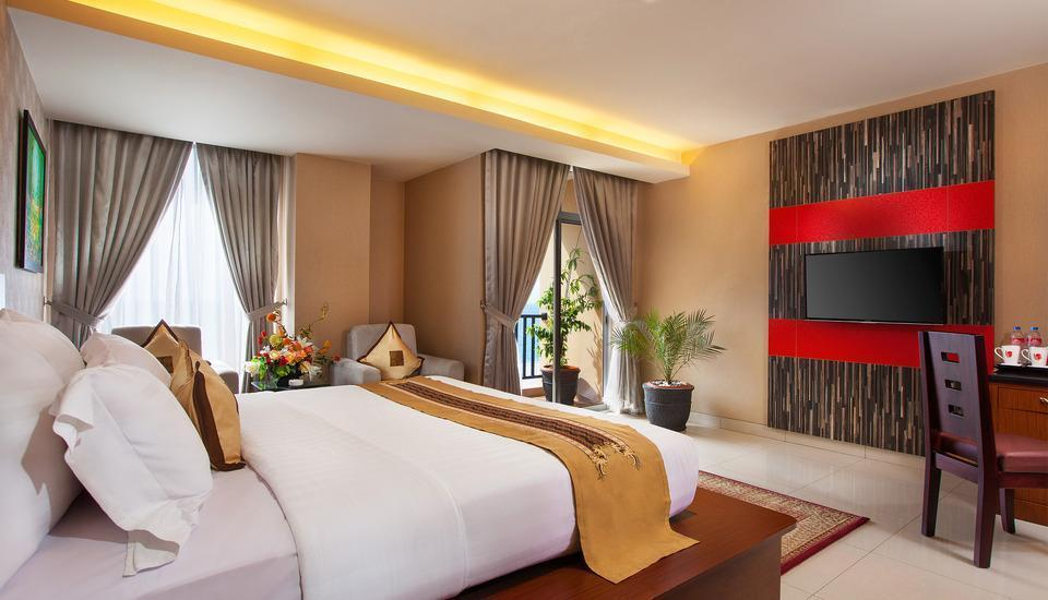 Lion Hotel & Plaza Manado - Deluxe Double Sea View With Breakfast Regular Plan