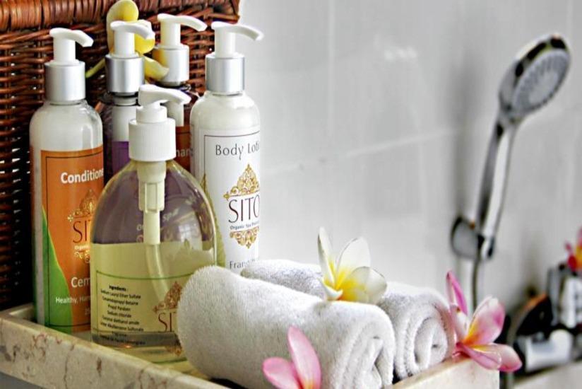 Suly Resort Bali - perlengkapan mandi