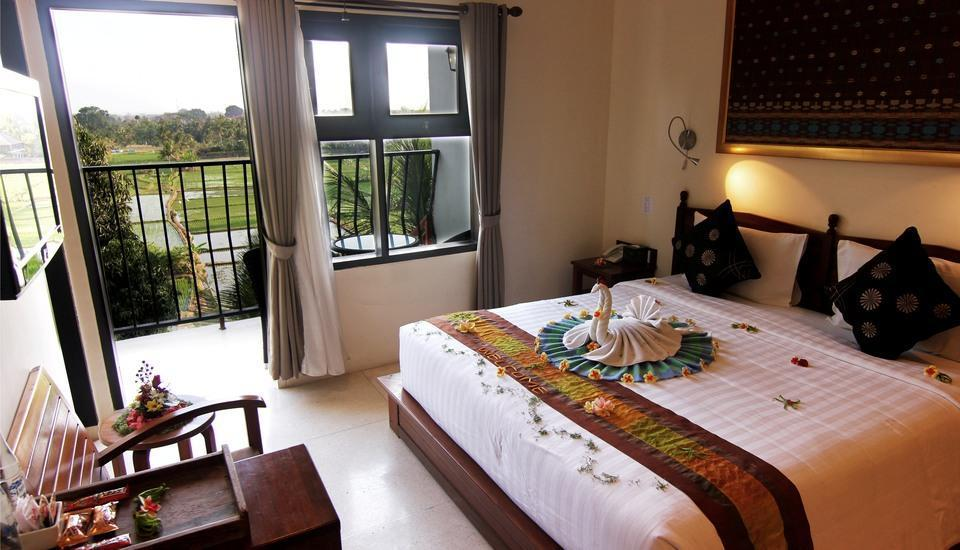 Suly Vegetarian Resort & Spa Ubud - Grand Deluxe with Rice Field View