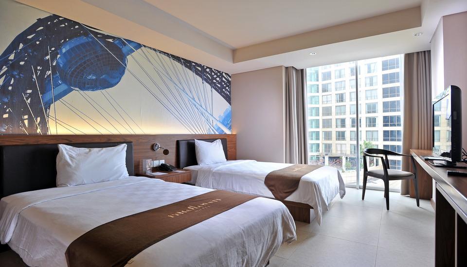Midtown Hotel Surabaya - Kamar dengan pemandangan kota