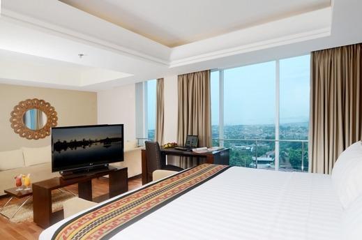 Emersia Hotel Lampung - Junior Suite Double Ocean View Regular Plan