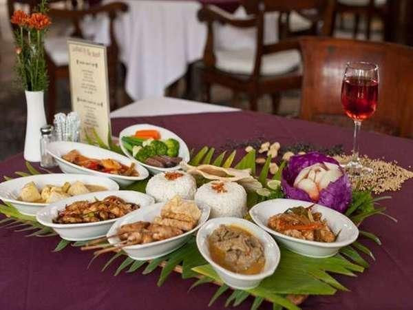 Tamu Kami Hotel Bali - Rijstafel Indonesia