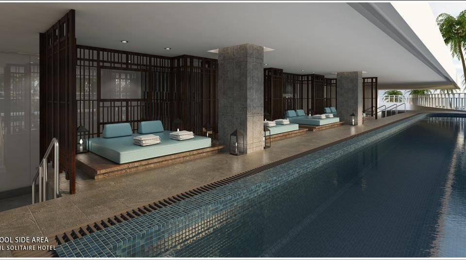 JHL Solitaire Gading Serpong a D Varee Collection South Tangerang - Swimming Pool