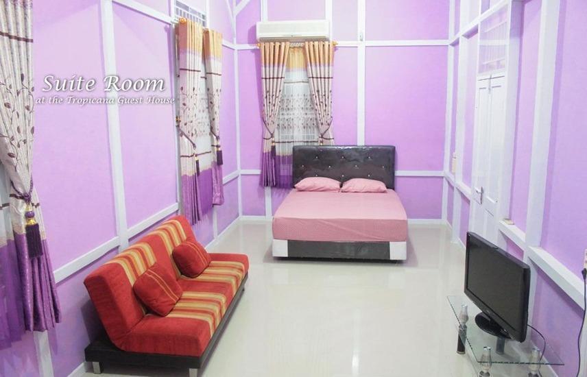 Tropicana Guest House Bengkulu - Kamar
