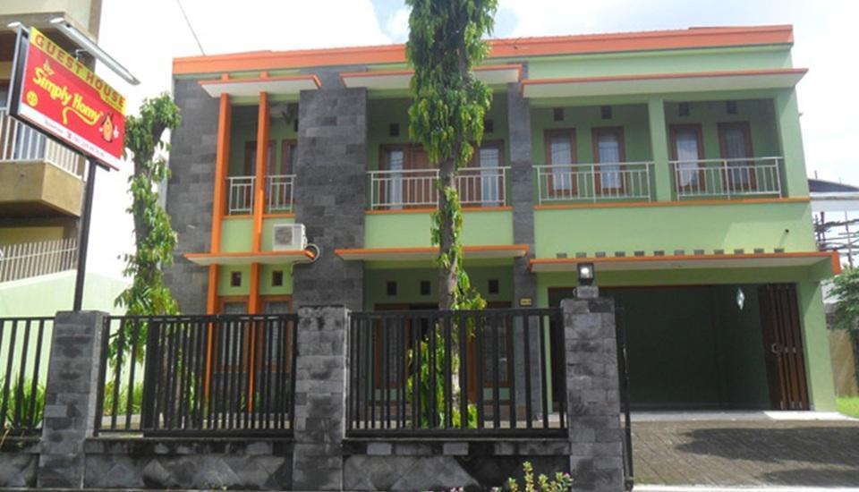 Simply Homy Guest House Sawit Sari 2 Yogyakarta - Tampilan Luar Hotel