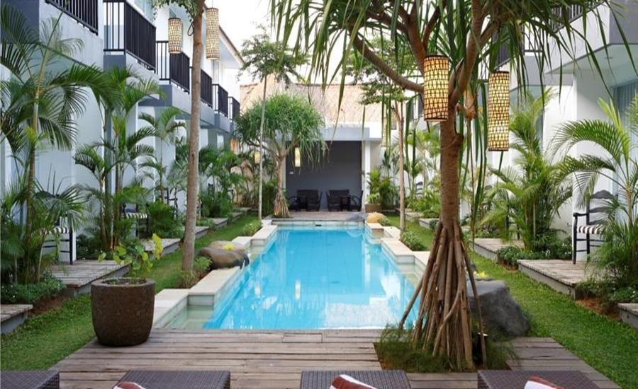 Ariva 7 Bidadari Boutique Hotel Seminyak - Kolam Renang