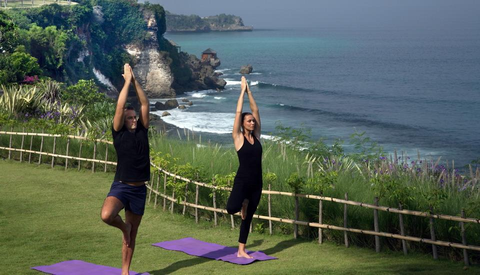 AYANA Resort and Spa, BALI - Kelas yoga
