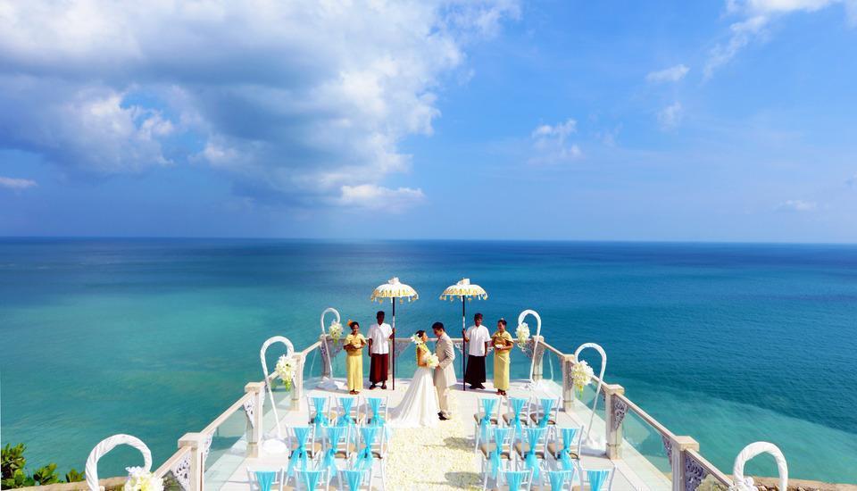 Ayana Bali - Tempat pernikahan langit