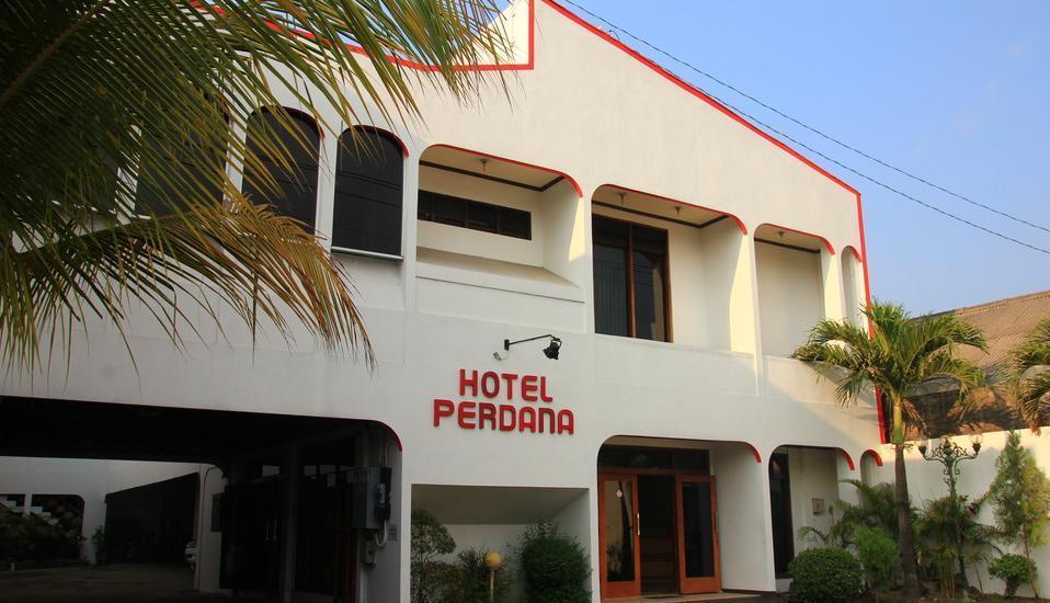 Hotel Perdana Yogyakarta - tampak depan