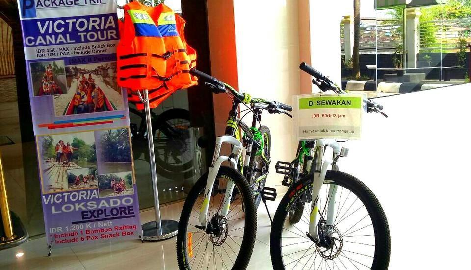 Hotel Victoria River View Banjarmasin - Bicycle Rent