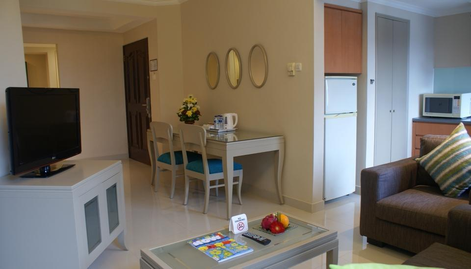Grand Tropic Jakarta - New Deluxe Suite Two bedrooms  Special Price