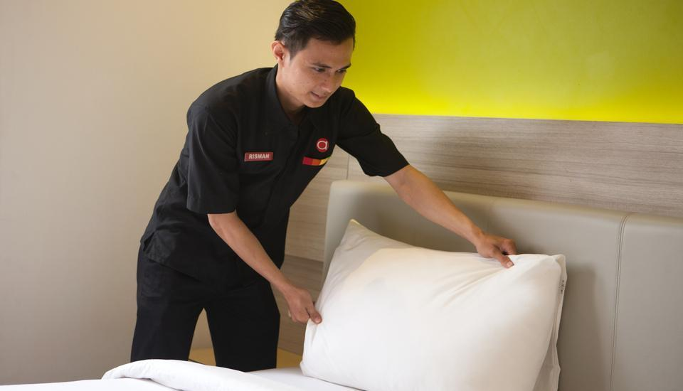 Amaris Hotel Serang - Pelayanan dari Staff Housekeeping