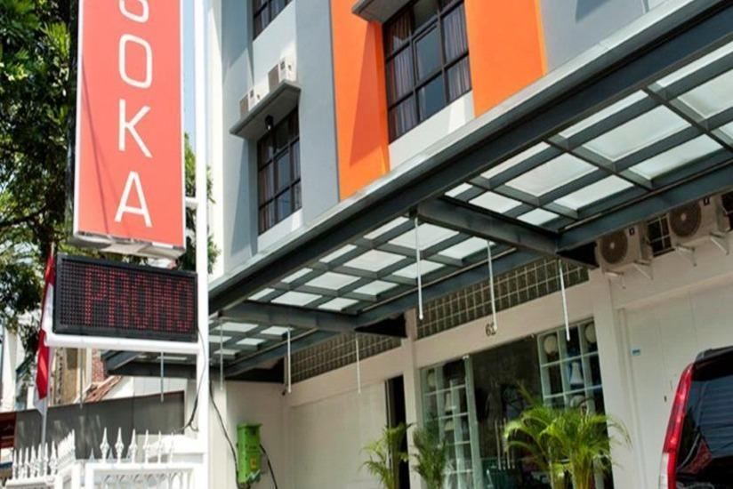 Asoka Hotel Bandung - Hotel Building