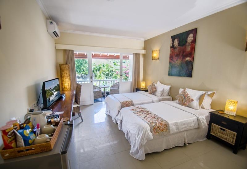 Scallywags Resort Gili Trawangan - Pool View Room Regular Plan