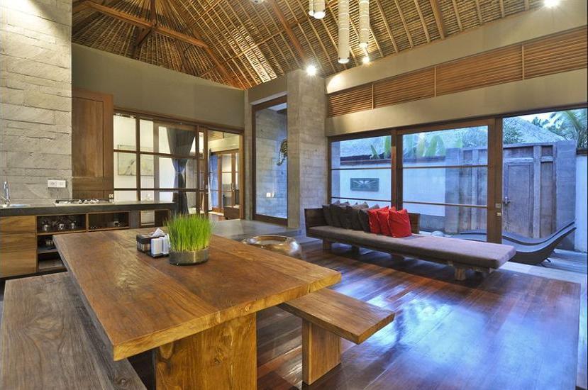 Luwak Ubud Villas Bali - Living Room