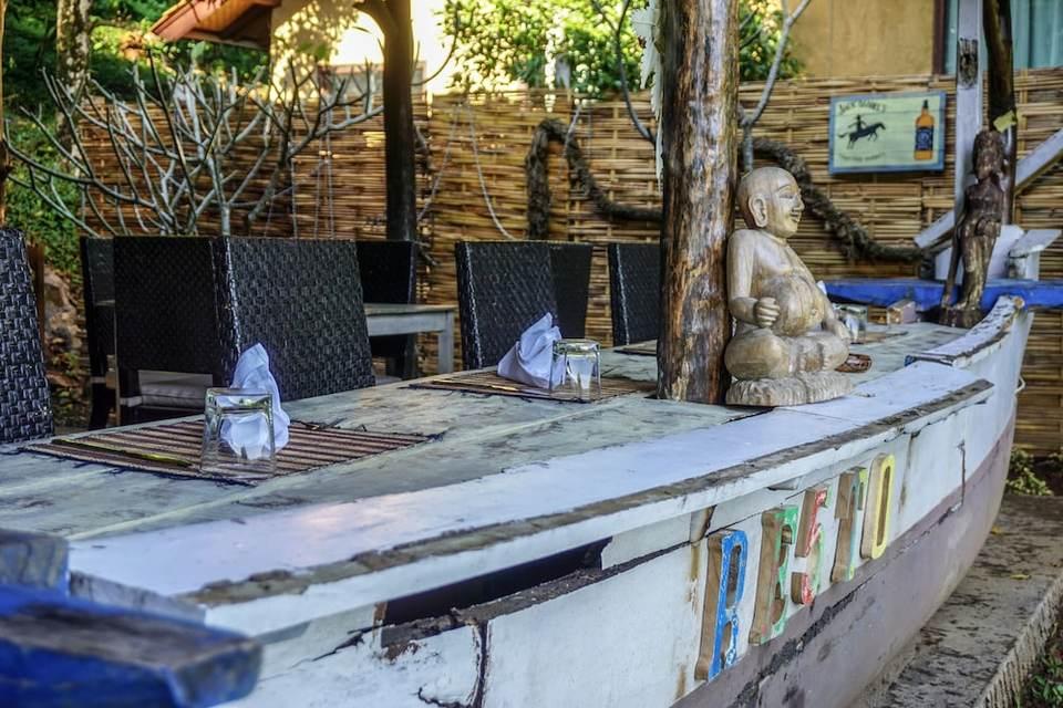 Swar Bali Lodge Bali - Breakfast Area