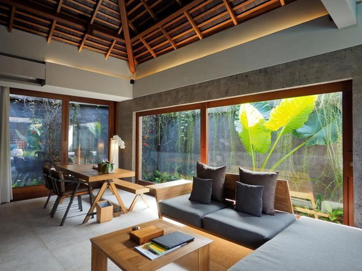 The Santai Bali - Living Area