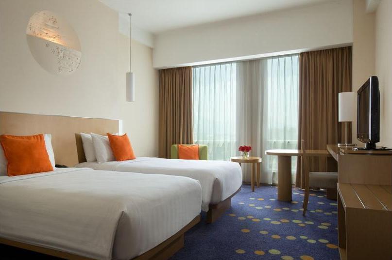 Novotel Bandung - Kamar Superior, 2 tempat tidur single Regular Plan