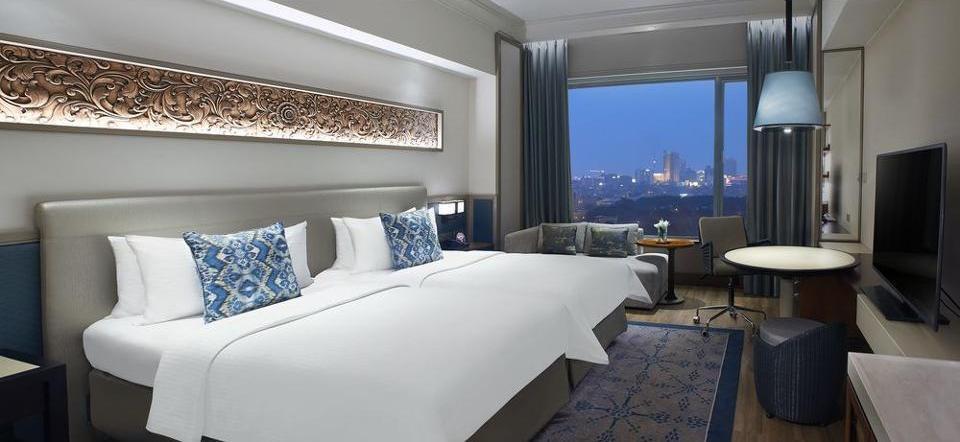 Shangri-la Surabaya - Kamar Deluks, 2 Tempat Tidur Twin Regular Plan