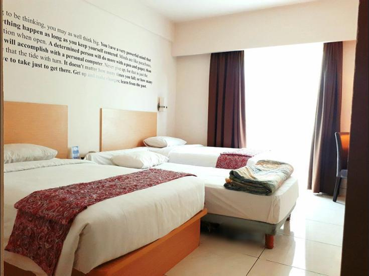 The Tusita Hotel Bali - Kamar Deluks (with Extra bed) Regular Plan