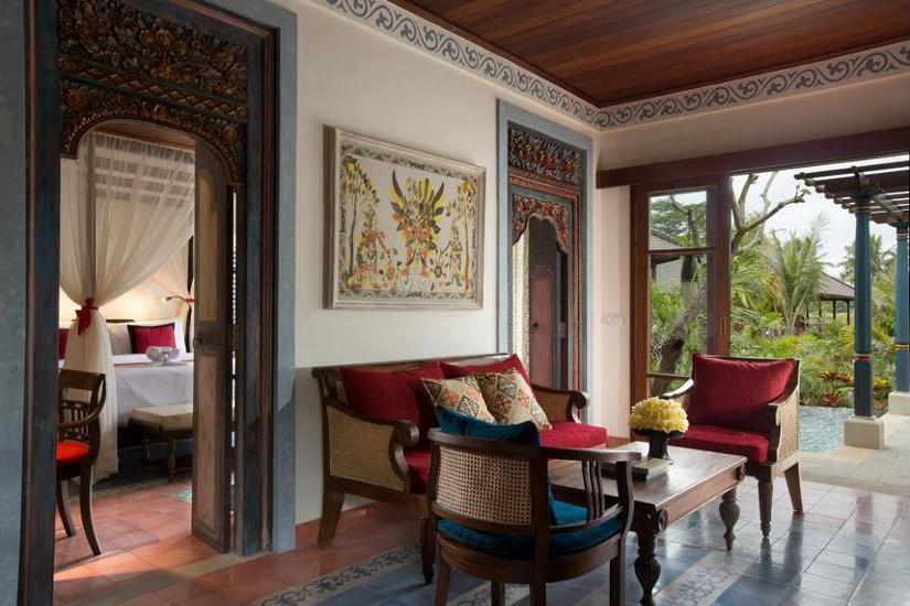 Dwaraka The Royal Villas Bali - Living Area