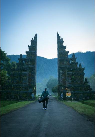 Handara Golf & Resort Bali - Hotel Entrance
