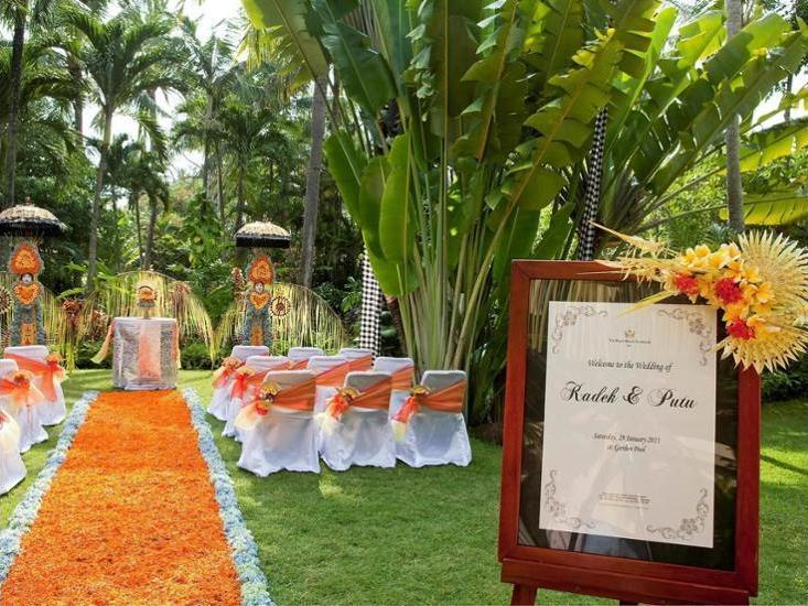 The Royal Beach Seminyak - Outdoor Wedding Area