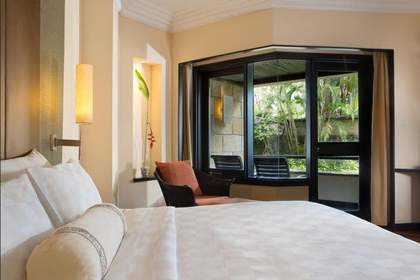 The Royal Beach Seminyak - Grand Deluxe, Kamar Deluks, 1 Tempat Tidur King, pemandangan kebun Regular Plan