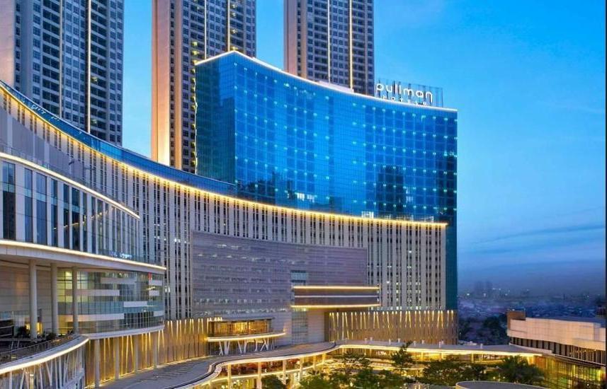 Pullman Jakarta Central Park - Hotel Front