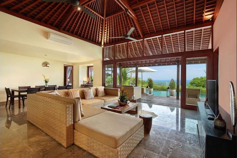 Hidden Hills Villas Bali - Living Area