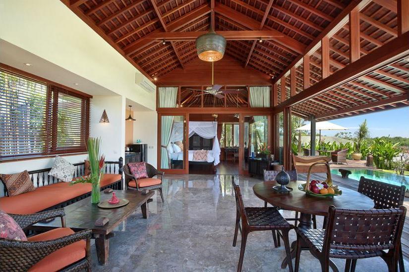 Hidden Hills Villas Bali - Living Room