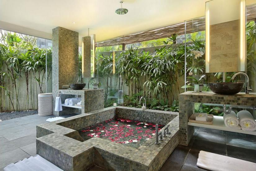 Hidden Hills Villas Bali - Bathroom