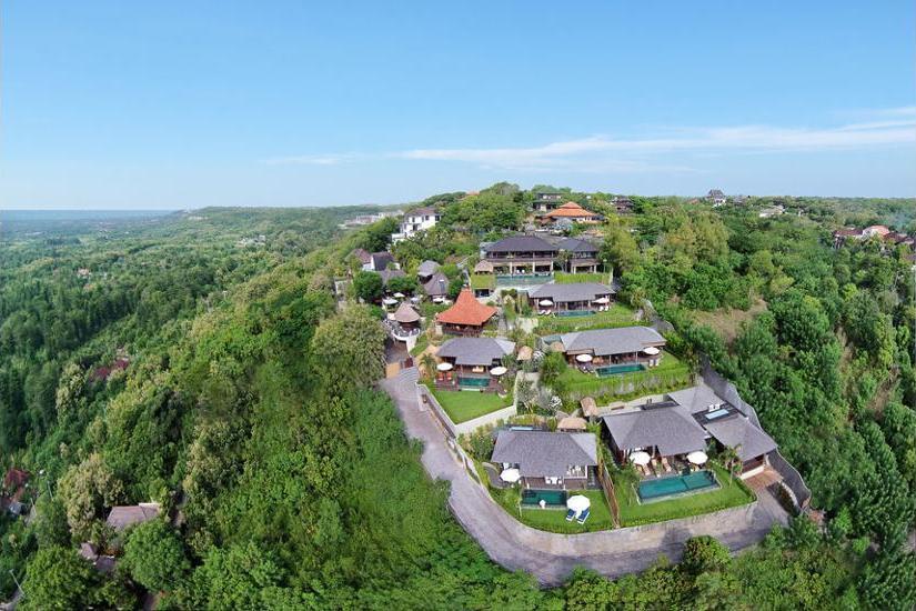 Hidden Hills Villas Bali - Aerial View