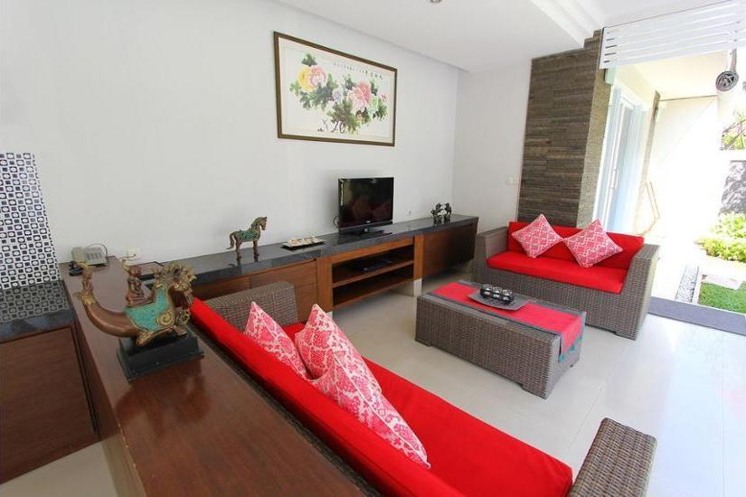 Heliconia Villa Seminyak - Living Area