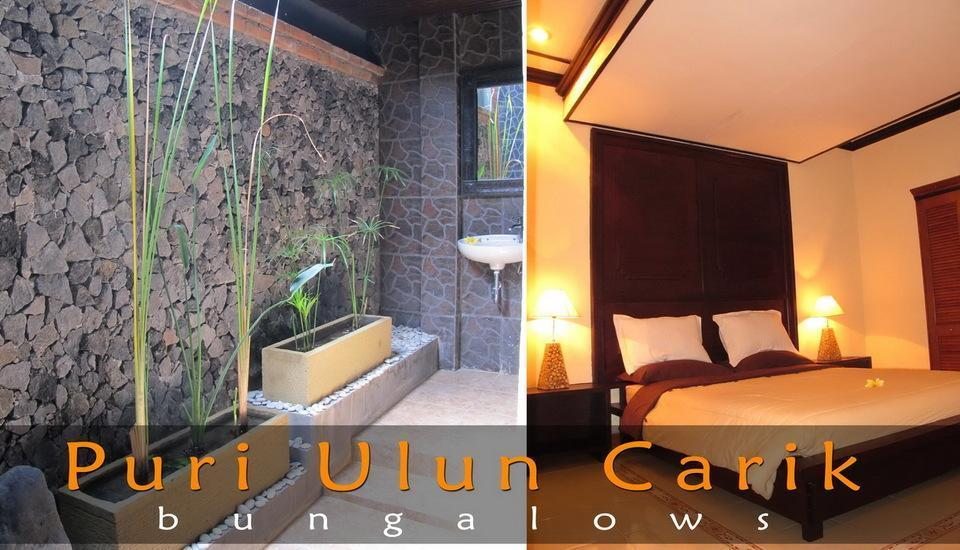 Puri Ulun Carik Bungalows Bali - Standard Room Double Regular Plan