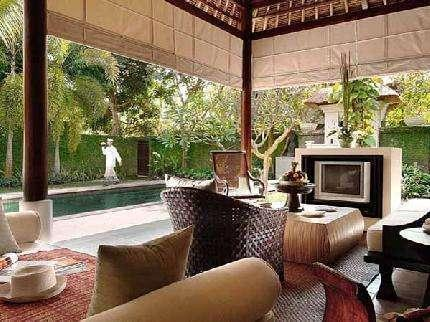The Gangsa Villa Bali - Ruang tamu