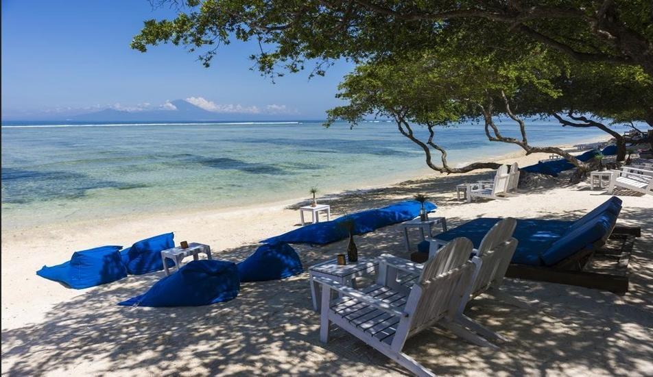 Gili Teak Resort Lombok - Beach