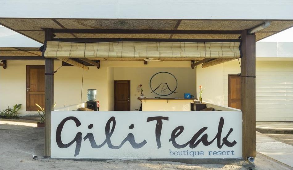 Gili Teak Resort Lombok - Lobby