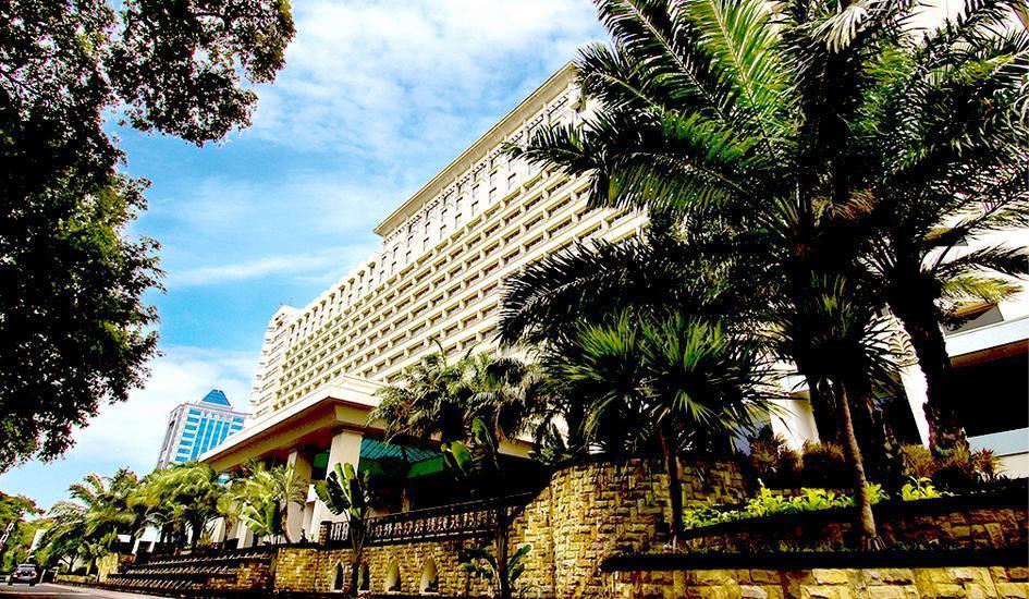 Hotel Borobudur Jakarta - Front View