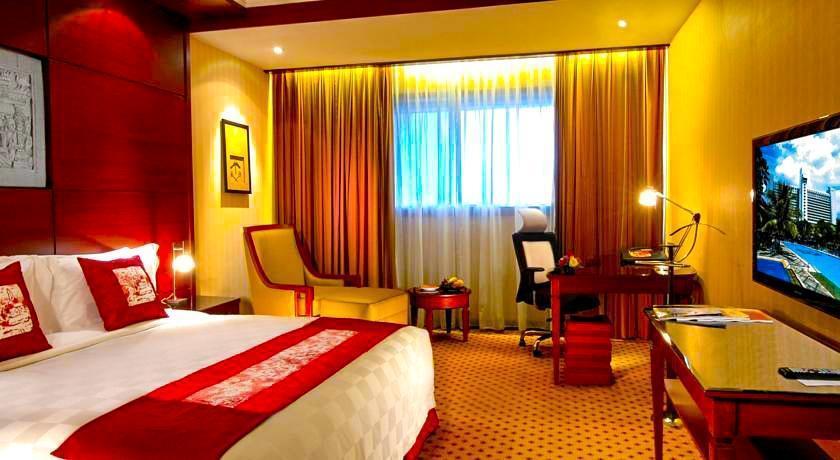 Hotel Borobudur Jakarta - Kamar tamu