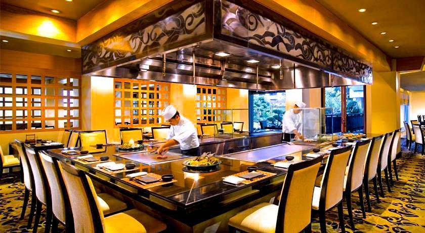 Hotel Borobudur Jakarta - Restoran