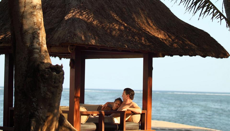 Puri santrian Bali - Pantai