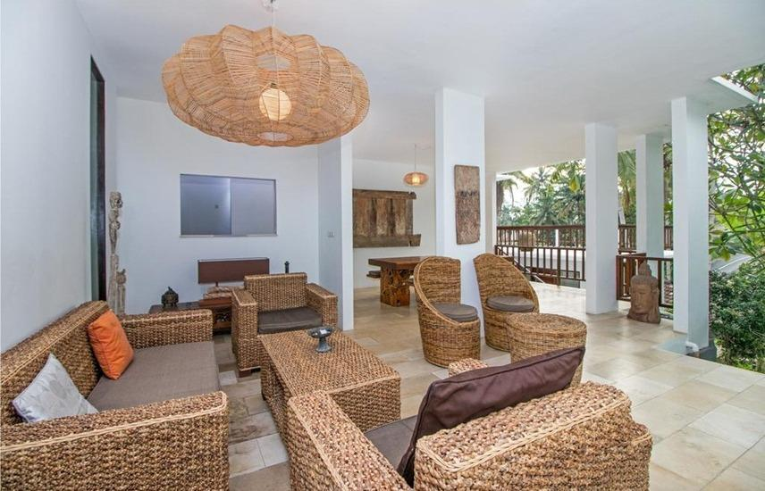 Villa Yamuna Bali - Ruang tamu