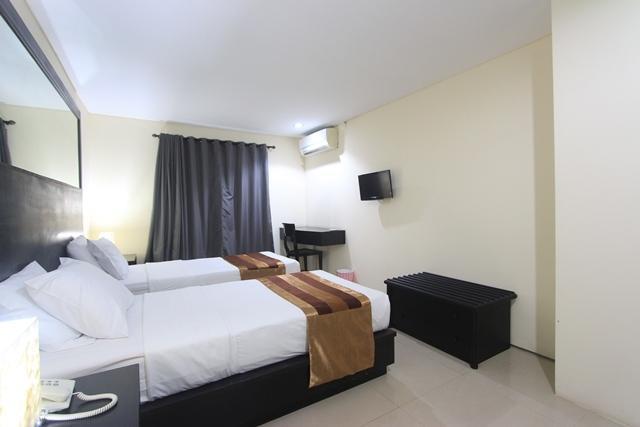 Airport Kuta Hotel Bali - tempat tidur Twin
