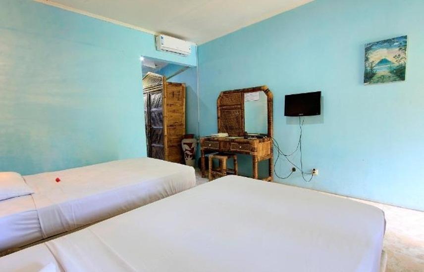 Pesona Bulan Baru Hotel Lombok - Kamar tamu